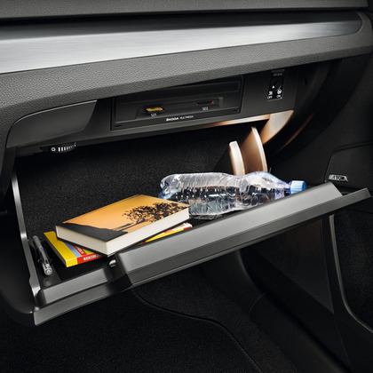 Cooled glove compartment