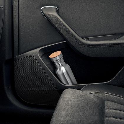 1.5-litre bottle holder in rear doors