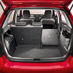 Foldable Rear Seats