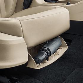 Umbrella Under Front Passenger Seat