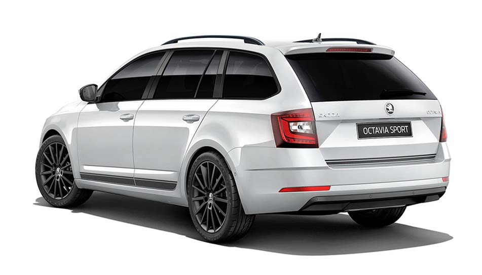 octavia-sport-wagon Stylish