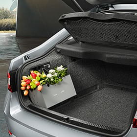 Flexible Storage Compartment