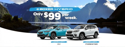 Subaru e-Boxer Hybrids