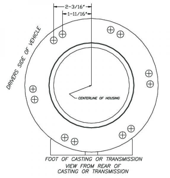 Atlas 4 Speed Transfer Case Builder | Advance Adapters