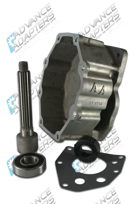50-0213 : GM NV4500 4WD to Toyota Land Cruiser 16 spline