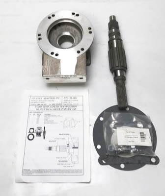 50-3801 : Ford NP435 4 speed manual transmission to the Jeep Dana