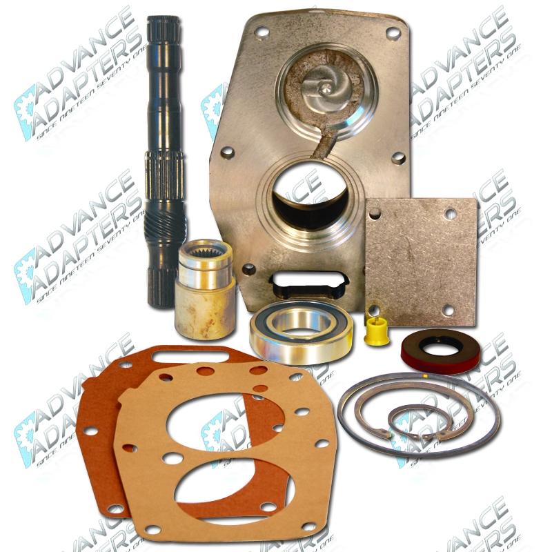 50-5700 : GM 2wd Th350 to Toyota truck 21 spline Adapter Kit