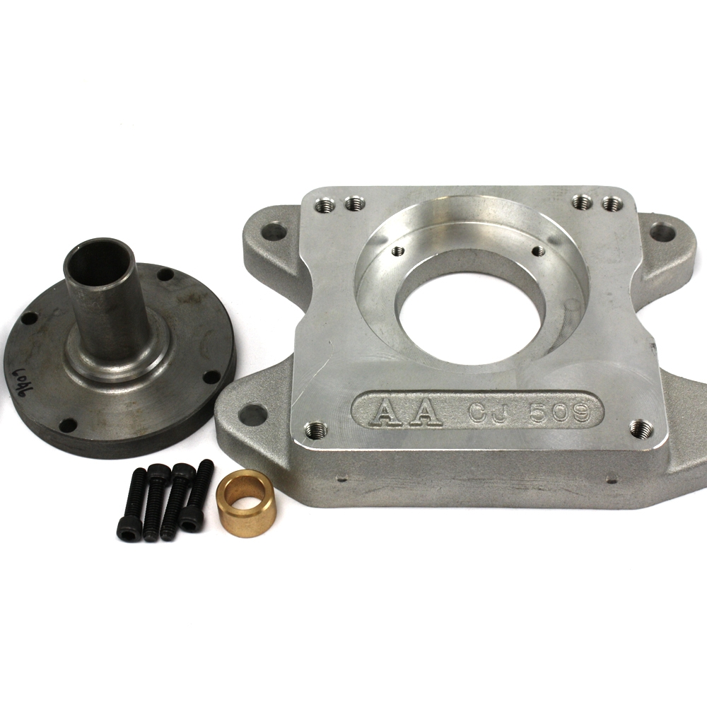 712510 : Chevy V8 to Jeep T15 Transmission Adapter Kit