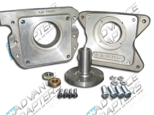 712518 Ford V8 To Jeep T98 Or T18 Transmission Adapter Kit