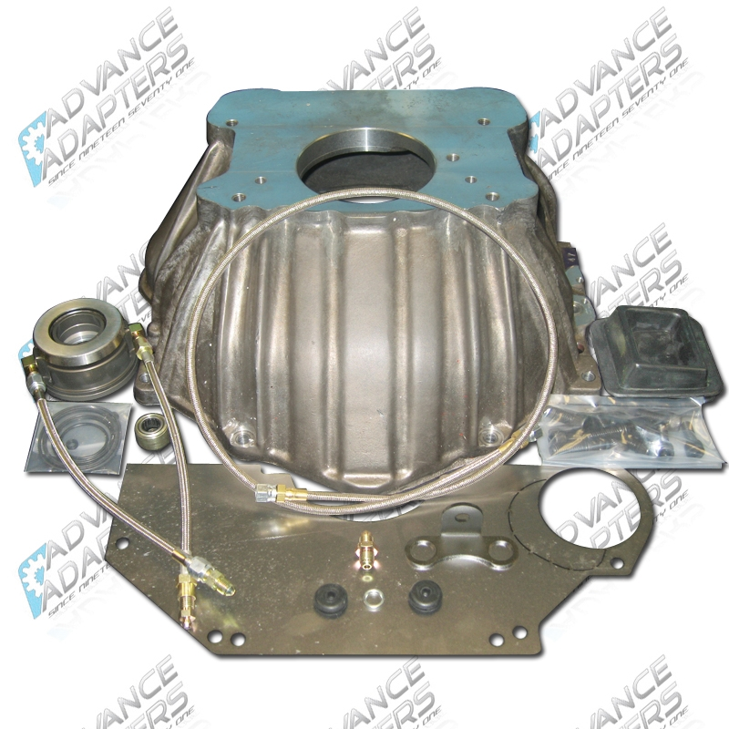 712547 : Chevy S10 T4 or T5 Transmission to GM V8 Adapter Kit