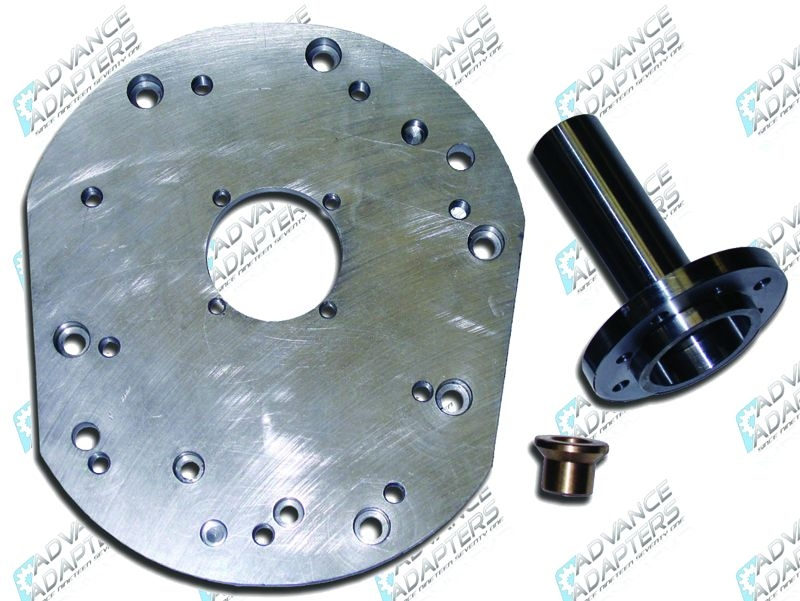 712563 : Jeep AX15 adapter plate kit to the Jeep AX5 bell