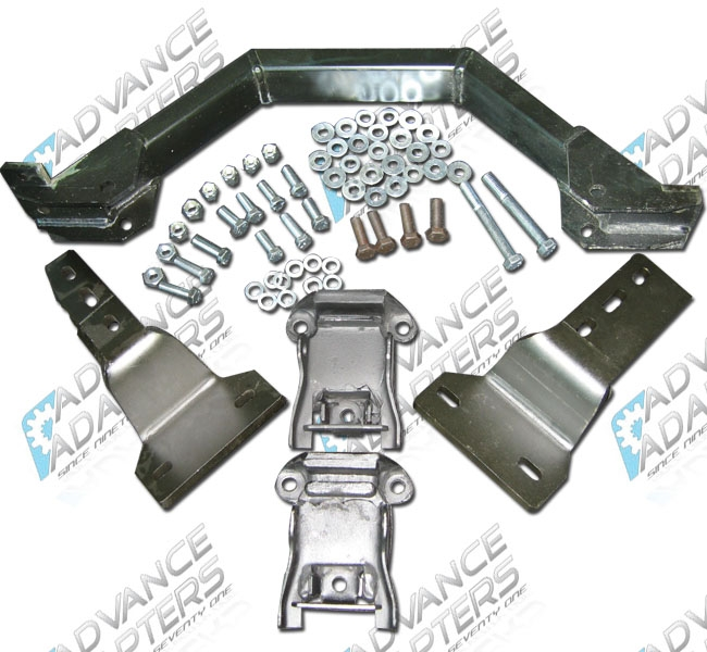 713090 : Chevy V8 engine (replacing 4 Cyl ) mount kit | Advance Adapters
