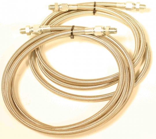23-1501-60 : Stainless flexible transmission cooler lines 60