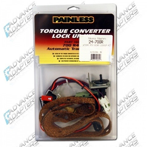 24-700R : Painless Wiring : 60109 - 700R Stand-Alone Torque Converter Lockup Kit