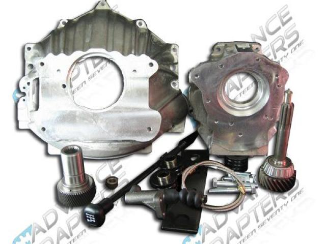 27-0011TA :GM V8 W/ NP231 TO DODGE 29SPL USED WITH AA TRANS.