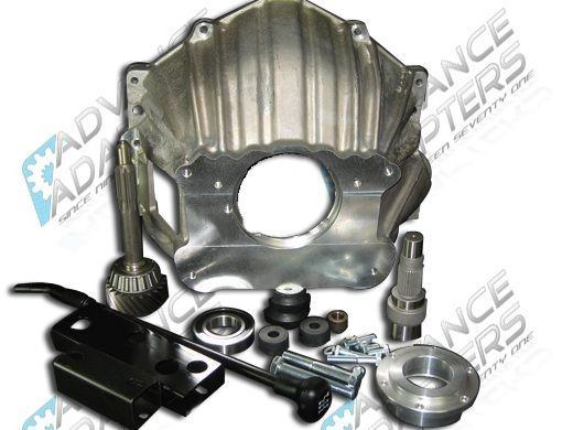27-0001T : Dodge 29 Spline NV4500 Full Bellhousing Adapter Package (Chevy V8 to Dana 300)