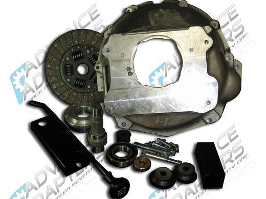 27-0003BT : Dodge 29 Spline NV4500 Full Bellhousing Adapter Package (AMC Engine & Dana 300)
