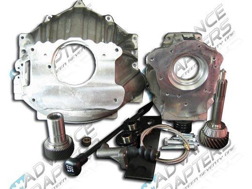 27-0011T : Dodge 29 Spline NV4500 to Chevy V8 small Block & Jeep NP231 Transfer Case