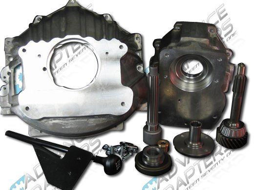 27-0021T : NV4500 Retrofit Kit GM Small Block to 1974-1980 Toyota Land Cruiser