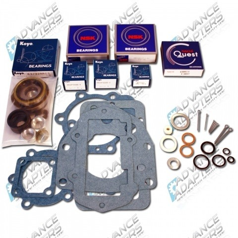 401416 : Toyota Land Cruiser stock 4 speed 16 spline transfer case rebuild kit