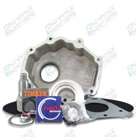 50-0210 : GM NV4500 4wd to Jeep Dana 20 transfer case adapter kit.