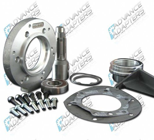 50-0230 : Dodge NV4500 4wd with 29 spline output shaft to 1966-77 Bronco Dana 20 transfer case,adapter kit.