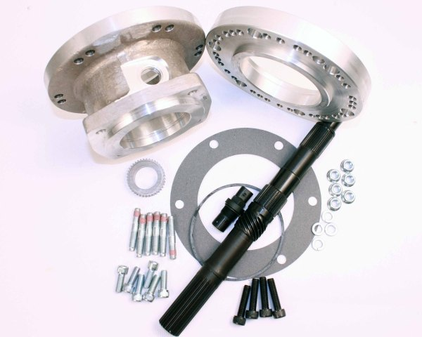 50-0404 : 1993-96 GM 4L60E 4 speed automatic transmission to the Jeep Dana 300 adapter kit.