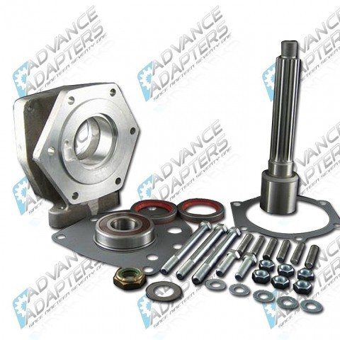 50-1601 : GM 4L80E 4 speed automatic transmission to the 1974-80 Land Cruiser 16 spline transfer case,adapter kit.