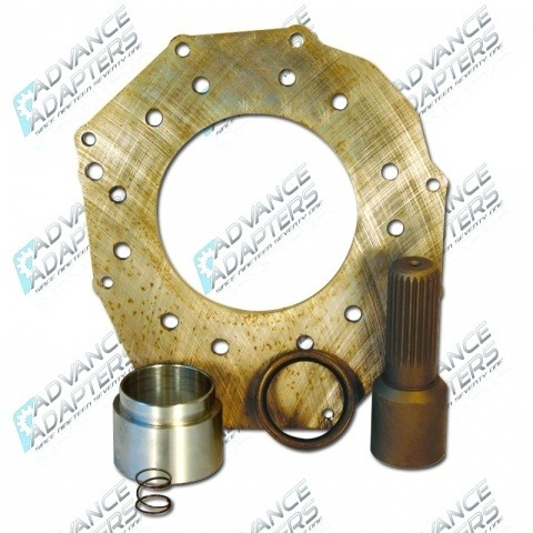 50-5710 : Toyota Tacoma Tranmission to Atlas transfer case Adapter Kit (23 spline)