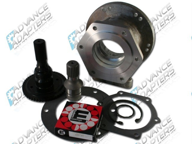 50-6400 : GM TH400  to Dana 300 transfer case Adapter kit (4.25 long)