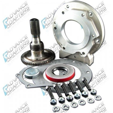 50-6402 : GM TH400 to Pre 1995 New Process 231 transfer case Adapter kit (1.25 long)