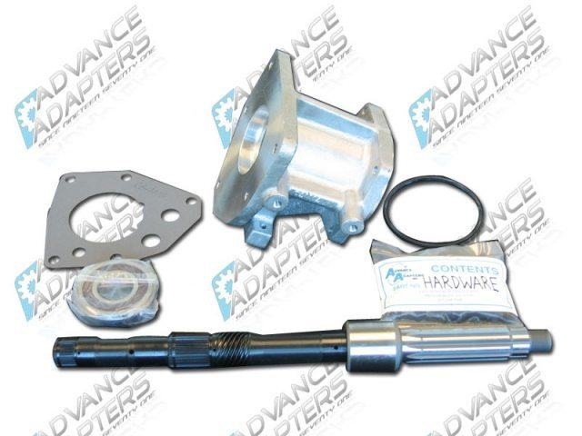 50-7300 : GM TH350 to Toyota Land Cruiser 10 spline transfer case Adapter Kit