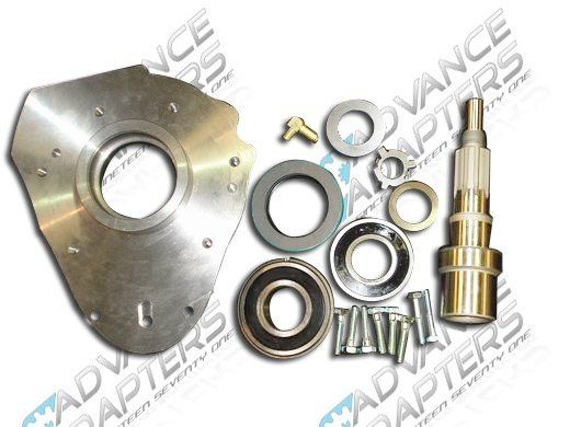 50-9000 : Jeep NV3550 / Dodge NV4500 with 23 spline to Land Rover Transfer Case Adapter Kit