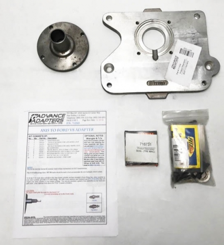 SY-712534 : Chevy V8, 4.3 V6, Or Buick V6to Jeep T176 Transmission Adapter Plate Kit