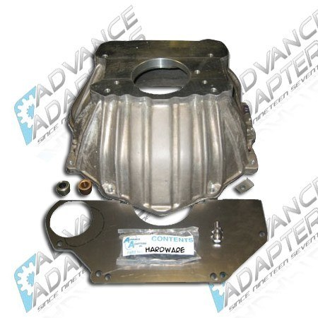 712548 : Chevy V8 to Jeep T150, T176, T4, & T5 Manual Transmission Adapter Bell Housing Kit.