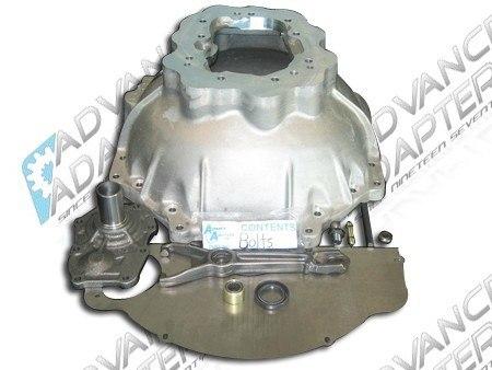 712565V : Chevy V8 & V6 to Jeep Wrangler AX5 5 speed adapter