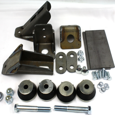 713124 : Chevy V8 & 4.3L V6 engine mount kit