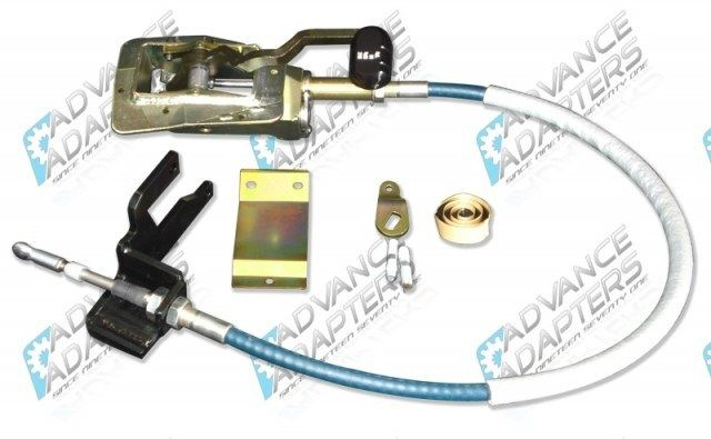 715543 : Jeep Wrangler TJ Cable shifter for New Process 231 & 241 Transfer Cases