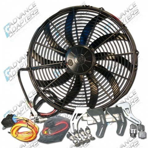 716670 : 16 SPAL ELECTRIC PULLER FAN KIT