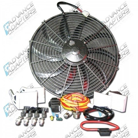 716671 : 16 SPAL ELECTRIC PUSHER FAN KIT