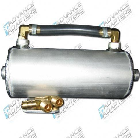 716672 : ALUMINUM RADIATOR RECOVERY CAN & SITE TUBE