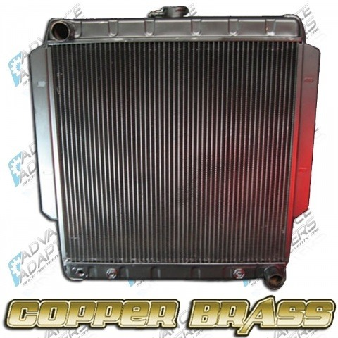 716681 : Radiator Toyota Truck with GM V8 (4 core)