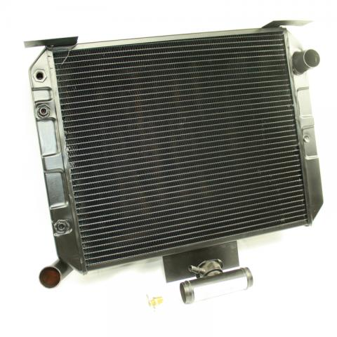 716683 : Radiator Bronco II with Ford V8 (4 core)