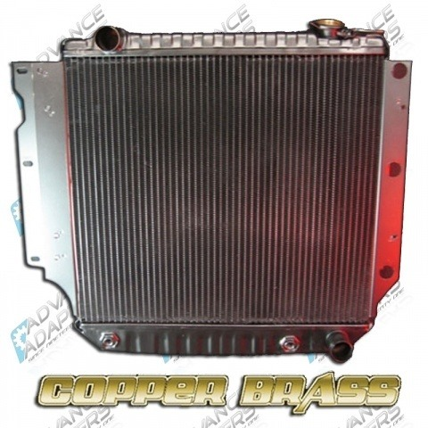 716687 : Radiator 1987-2006 Jeep with GM V8 (built in trans cooler)