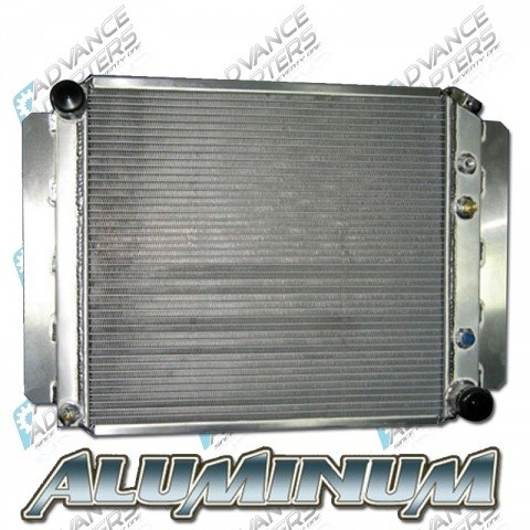 716690-RAD : Radiator 1972-86 Jeep with GM V8 engine (built in trans cooler)