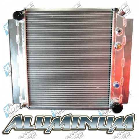 716697-RAD : TLC FJ40 ALUM. 2 CORE W. TRANS COOLER