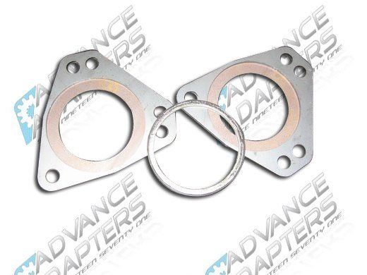 717514 : GM LS Gen III / Gen IV stock truck madifold collector rings and gasket kit