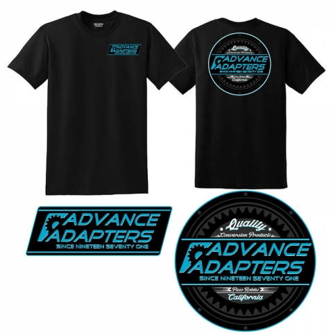 Advance Adapters Logo Tee (Black)