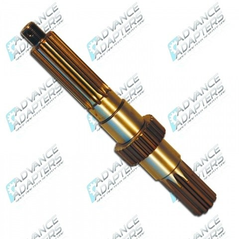 O40500 : Toyota Land Cruiser transfer case output shaft (coarse spline)
