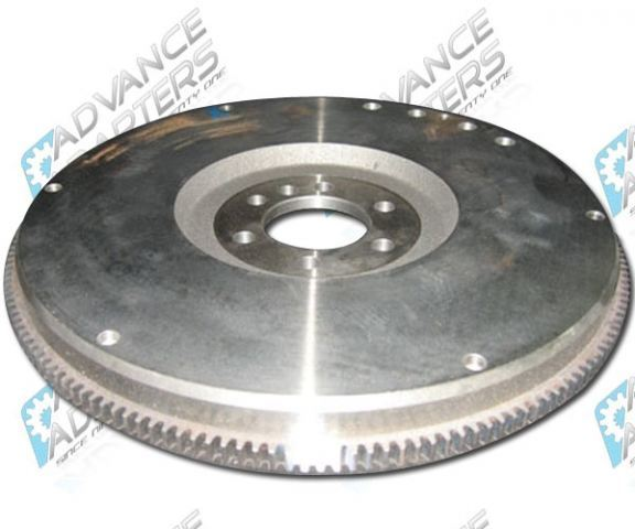CF785168 : GM/Chevy 168 Tooth Cast Iron Flywheel for internally balanced pre 1986 Motors